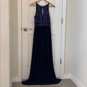 MORGAN & CO DRESS size 3 Navy  color